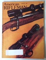 1978 January VTG American Rifleman Magazine Magnum is a Chuck Gun Derringers