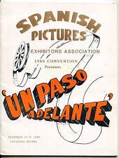 "1980 Convention Program: ""SPANISH PICTURES EXHIBITORS ASSOCIATION"" [Las Vegas]"