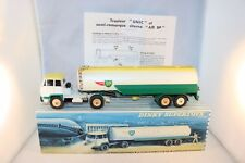 Dinky Toys 887 UNIC Tractor with Air BP Tankwagen vnm in box with instructions