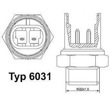 WAHLER Temperature Switch, radiator fan 6031.105D