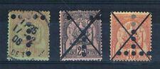 B2367 - TUNISIE - Timbres Taxe N° 15 - 16 - 17 Oblitérés