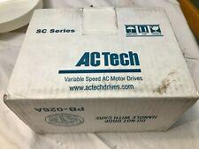 LENZE AC TECH SCM SERIES SM420 DRIVE SERIAL - NEW IN BOX -  #3825 05 40