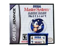 Sega Classics GBA 106 in 1 Multicart Gameboy Master System Game Gear 100 + Games