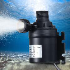 DC 12V 24V Hot Water Circulation Pump Solar Water Brushless Motor 800L/H 5M