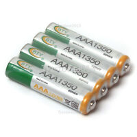 BTY 4pcs Rechargeables1350mAh 1.2V AAA Ni-MH Rechargeable 3A Battery R3 R03 LR3