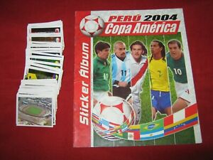 Navarrete Copa America 2004 Stickers Empty Album Complete Set