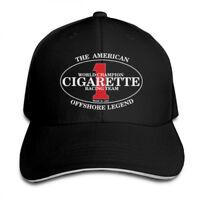 Cigarette Racing Team Logo Unisex Adjustable Snapback Baseball Cap Hat