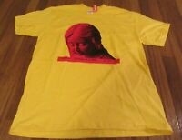 Supreme Everywhere Tee T-Shirt Size Medium Yellow FW20 Brand New DS 2020