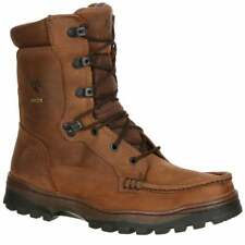 Rocky Outback Gore-Tex Waterproof Hiker  Boots Casual Hiking  Boots Brown Mens -
