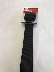 Tru Spec 2-Ply Range Belt XL Black (013)