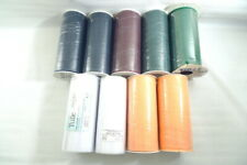 """9 Assorted Rolls Tulle Mesh Fabric 6"""" X 25 Yards Each Roll Bows Party Decor Tutu"""