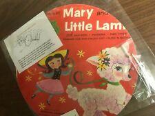 Vinyl Record CLOCK Wall Mary Little Lamb Children Kid Disney Art Retro GIFT