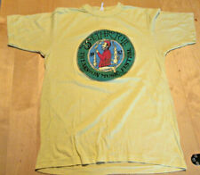 Jethro Tull Theakston Music Festival at Nostell Priory 1982 T Shirt yellow S