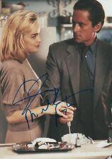 "Basic Instinct ""Michael Douglas & sharon stone"" autógrafos signed 20x30 cm imagen"