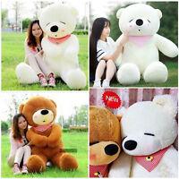 UK Large Teddy Bear XXL Giant Teddy Bears 80-100CM Big Soft Plush Toys Kids Gift