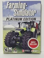 New Farming Simulator Platinum Edition PC DVD Factory Sealed Rated E