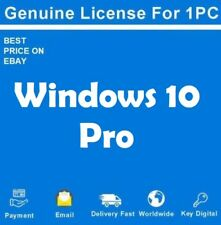 MICROSOFT WINDOWS 10 PRO 32/64 BIT PRODUCT LICENSE KEY +DOWNLOAD LINK(free)