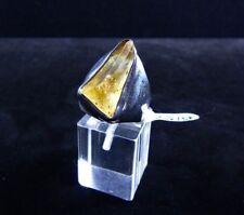 Ring Gr. 58 Silber 925 mit Topas Kristall