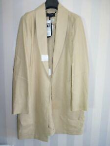 M&S UK 12 AUTOGRAPH Camel Tan Baird Mcnutt IRISH Pure LINEN Jacket Blazer 40