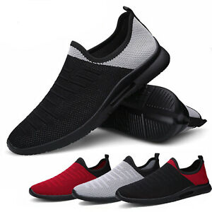 Women's Athletic Shoes Comfortable Lightweight Running Slip On Tennis Sneakers