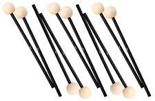 5x Paire Battes Baguettes Avec Xylophone Vibraphone Percussion 28,5cm Bois Set