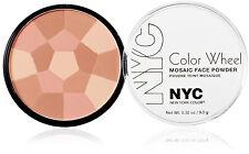 N.Y.C. New York Color Color Wheel Mosaic Face Powder - 725A Rose Glow