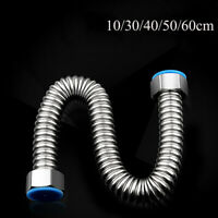 Stainless Steel Home Plumbing Hose Tube Corrugated Pipe Water Heater Connector