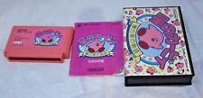 Kirby's Adventure Famicom Cart/Manual/3rd Party Box