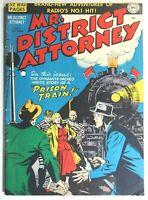 MR. DISTRICT ATTORNEY #15 * GOLDEN AGE COMICS * 1950 DC COMICS * LAW * CRIME