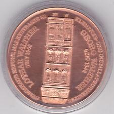 H. König Medaille Erfurt Walther GMBH Neubau Einweihung 1996, ,Cu, Dienel 18,