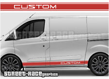 Ford Transit CUSTOM 004 racing stripes graphics stickers decals