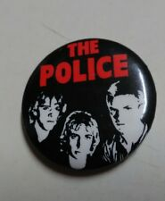 Vintage 1981 THE POLICE Pin  Sting licensed 1.25 Inches