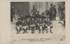 FOOTBALL JUEGOS OLIMPICOS 1924  EQUIPE DE HOLLANDE  N°303 REAL PHOTO