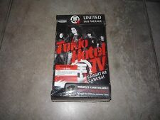 TOKIO HOTEL TV CAUGHT ON CAMERA FAN PACKAGE DELUXE 2 DISC DVD PLUS T-SHIRT NEW