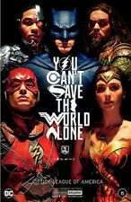 Justice League Of America 15 Nycc Comic Con Silver Foil Jla Movie Variant 2017