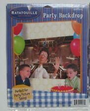 NIP-One Hallmark Disney Pixar Ratatouille Party Backdrop 27 x 53 Chef Linguini