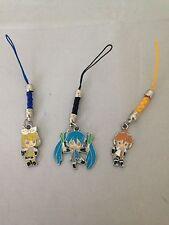 Vocaloid Cosplay Hatsune Miku Rin Len Kagamine Key Chain Phone Charm Tokyo Toys