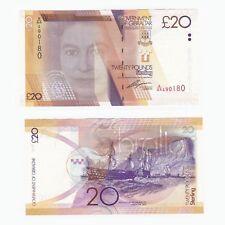 2011 GIBRALTAR - £20 Pounds Banknote - P.37 - UNC - A/AA Prefix.