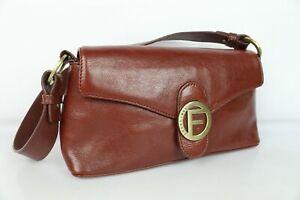 Sac Francinel vintage cuir marron TRES BON ETAT