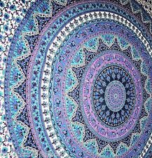Large Hippie Elephant Mandala Tapestry Wall Hanging Throw Indian Decor Bedspread