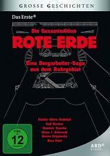 7 DVDs * Rote Erde I + II: Die Bergarbeiter-Saga aus dem Ruhrgebiet * NEU OVP