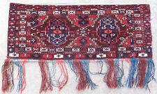 Rug carpet antique oriental tribal Afghan Turkmen Turkoman Torba Chodor 1900