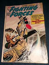 Our Fighting Forces #72 VG 4.0 early Appearance Gunner Sarge and Pooch 1st print