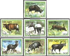Vietnam 1981-1987 (kompl.Ausg.) gestempelt 1988 Tiere