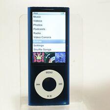 New listing Apple iPod nano 5th Generation Blue (8 Gb) Good Condition