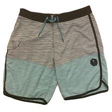 "Vissla Board Shorts Swim Trunks Suit Stretch Sz 33 9"""