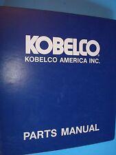 Kobelco SK025 Parts Manual  S4PV1005-1  S/N PV04301~  1992