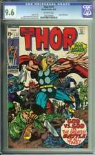 THOR #177 CGC 9.6 OW PAGES // JACK KIRBY COVER ART MARVEL COMICS 1970