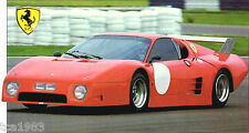 1981 FERRARI 512 BB LeMans SPEC SHEET / Brochure / Prospek