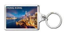 HONG KONG SKYSCRAPERS KEYRING SOUVENIR LLAVERO